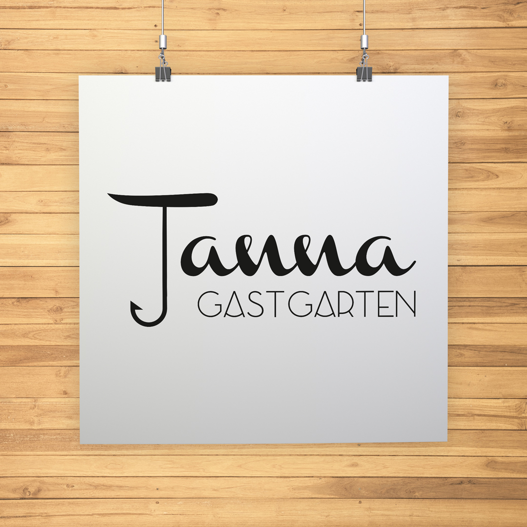 Gastgarten Tanna Bersbuch Bregenzerwald Logodesign