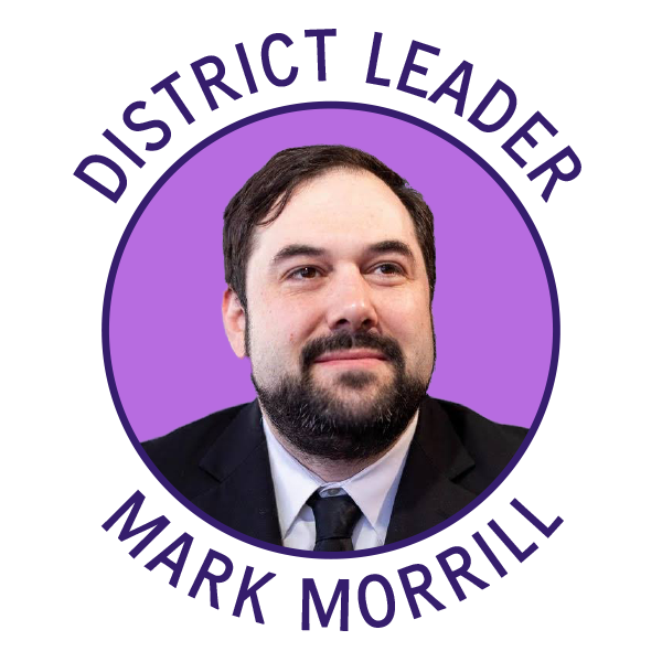 District Leader Mark Morrill
