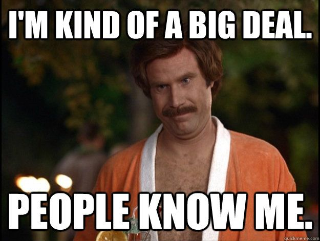 The most annoying Facebook status updates ever - Tech Girl | Anchorman  quotes, Just for laughs, Anchorman