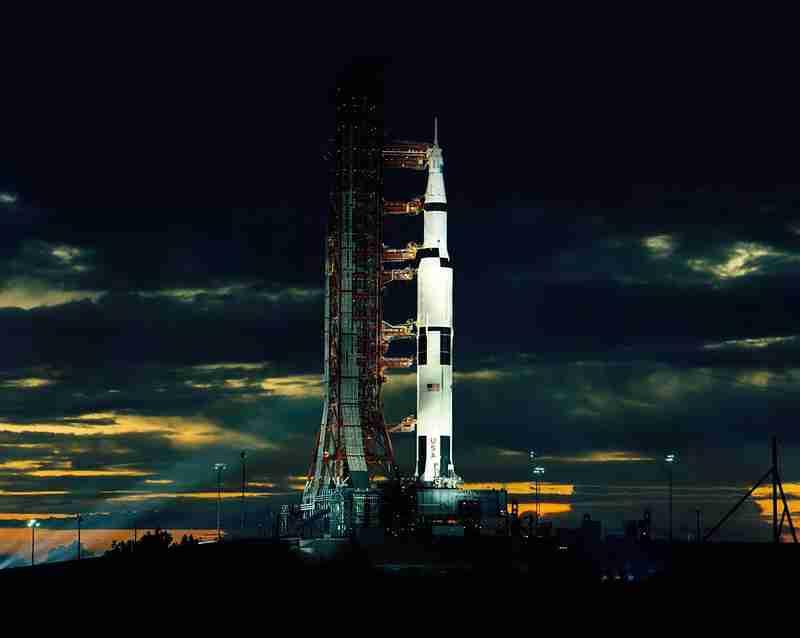 Apollo 17: The last moon shot.