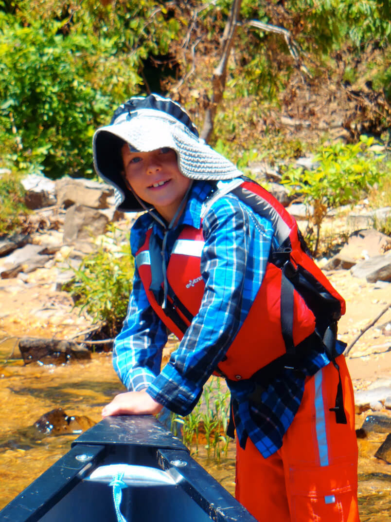 Kayaking creates wonderful adventures for kids to be talked about for years.