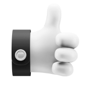 Icon of a thumbs up.