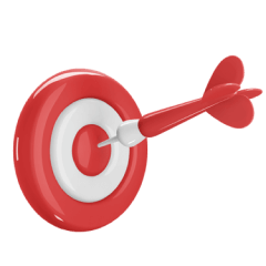 Icon of a target.