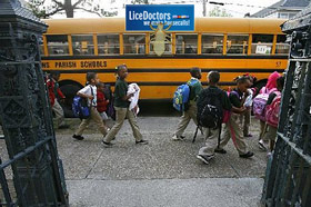 New Orleans School Lice Policy