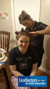 A Do-It Yourself Mom Decides that it's Time to Bring in Lice Professionals