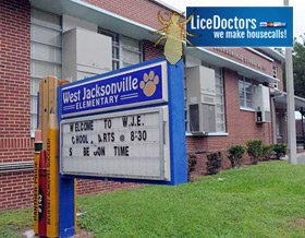 Jacksonville (FL) School Lice Policy