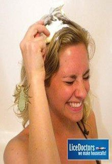 how to mayonnaise natural head lice treatment instructions