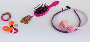 get rid of lice on hair accessories brush scrunchie clean disinfect
