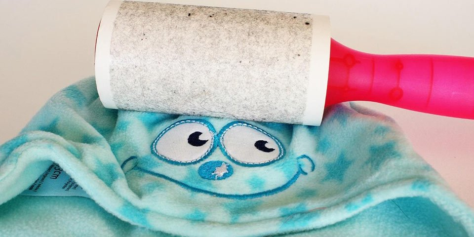 clean head lice car house furniture curtains vacuum lint roller