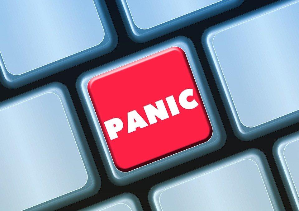 panic button key on keyboard