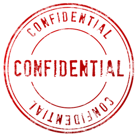 red ink stamp reading CONFIDENTIAL.