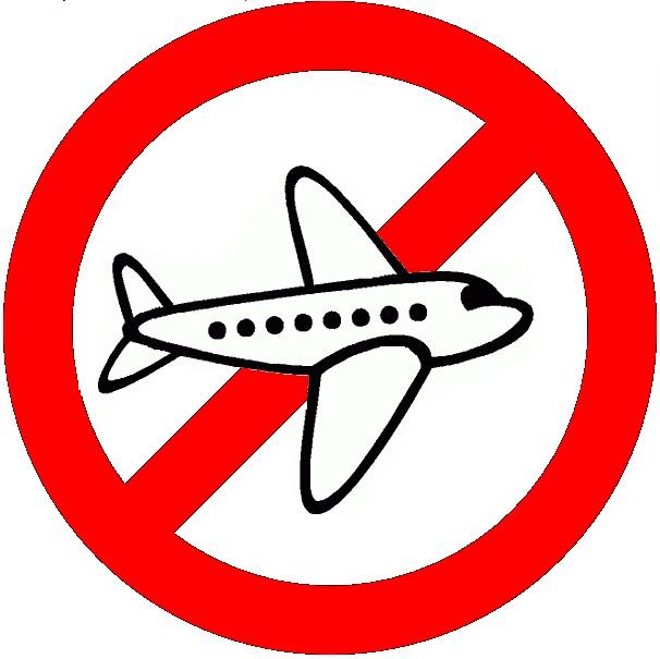 no fly prohibit red slash circle