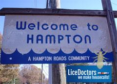 Lice in Hampton Virginia