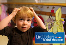 Does everyone feel itchy from lice?