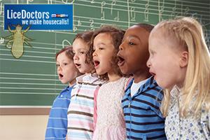 Kids singing - LiceDoctors
