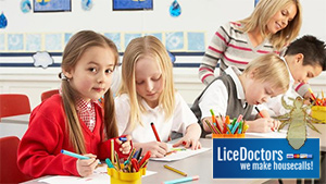 Students coloring - LiceDoctors