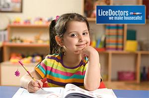 Girl Studying - Lice Doctors