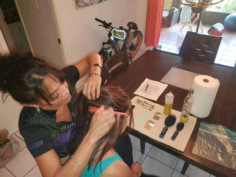 In-home lice treatment in Port Charlotte and North Port, FL