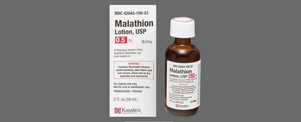 Malathion for Lice Removal
