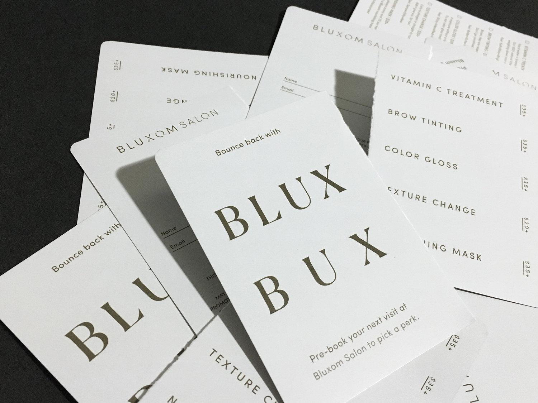 Bluxom Salon Rebrand