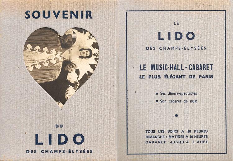 Souvenir Du Lido Des Champs Élysées