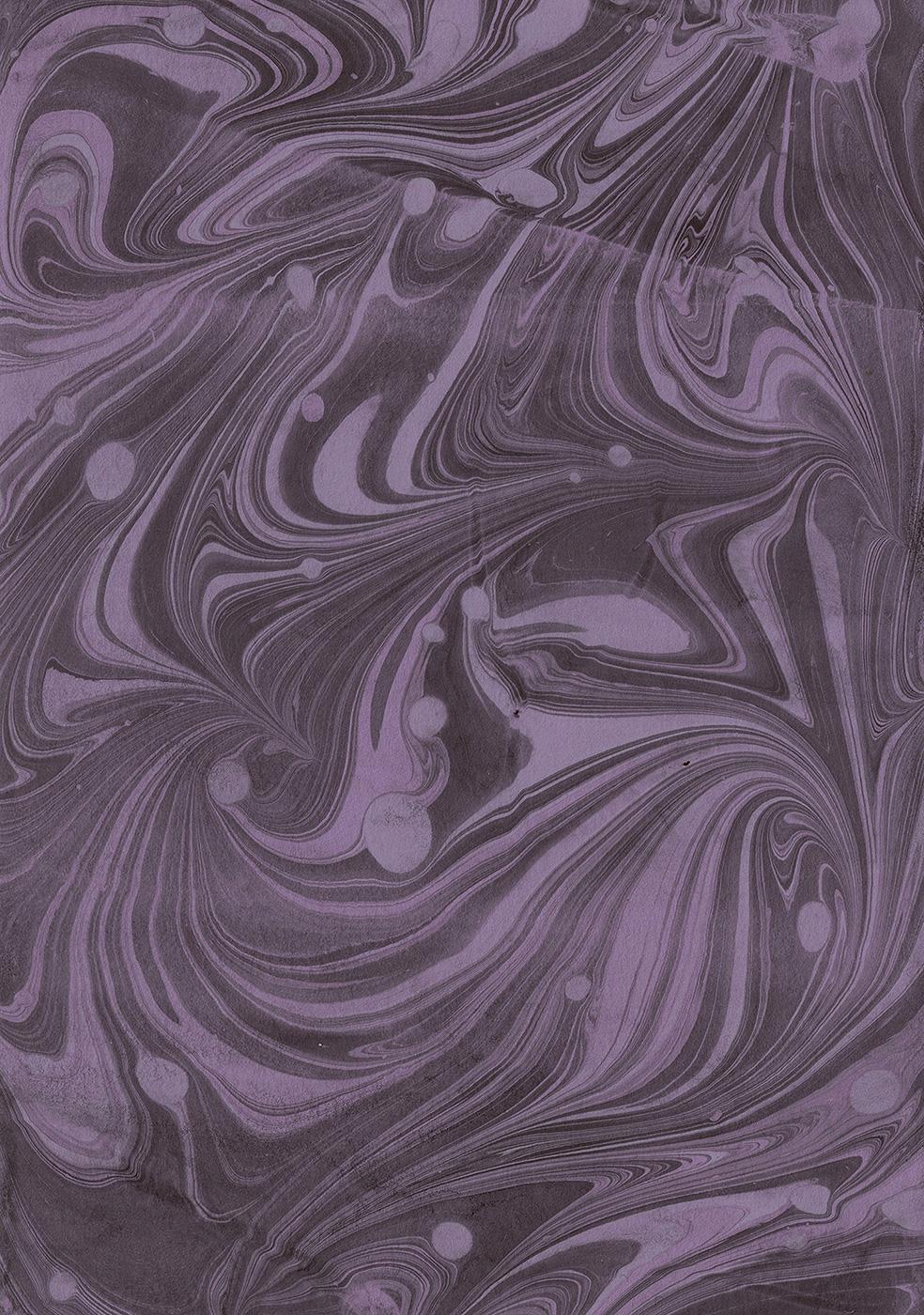 Paper Marbling Experiment 01:02 | © 2018 Anne Szafranski