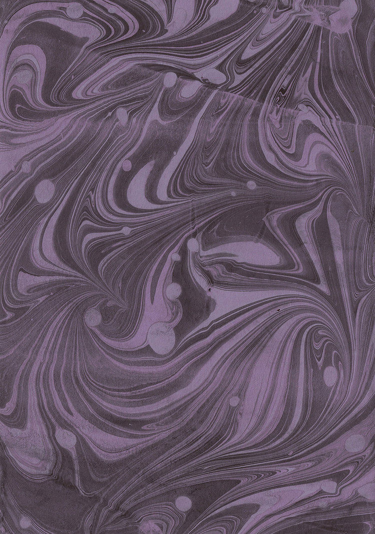 Paper Marbling Experiment: 01