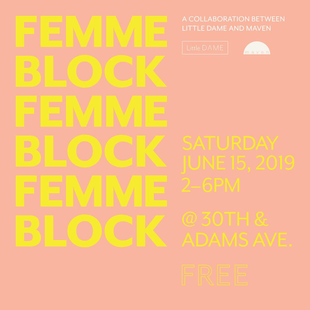 Femme Block—Year 3