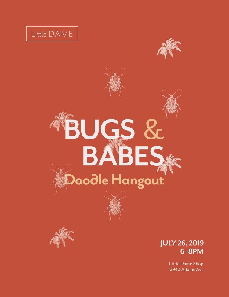 Flier Quickie: Bugs & Babes