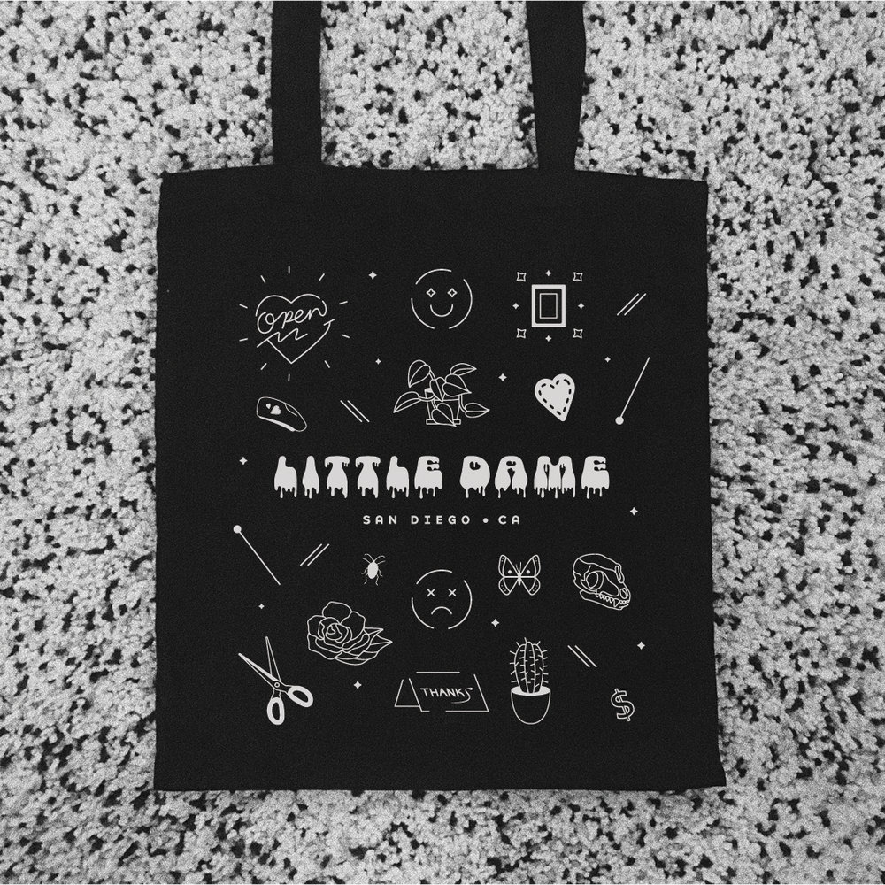 Tote Bag Design for Little Dame