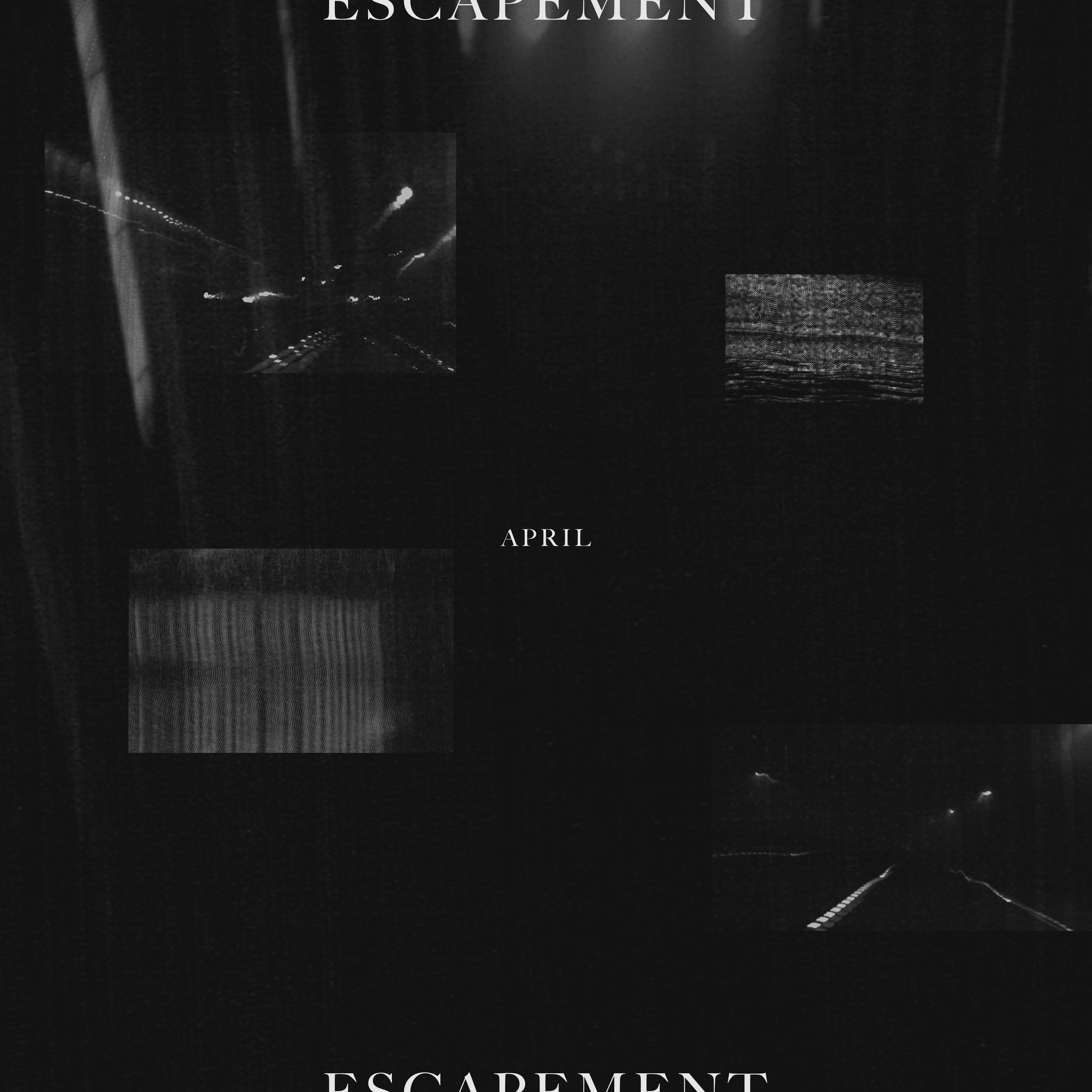 "April cover concept for ""Escapement"" | Anne Szafranski, May 2019"