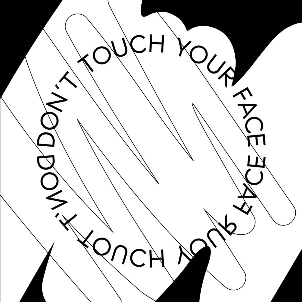 Annie Szafranski   Compass Quarantine Sprint: Don't Touch Your Face. April, 2020.