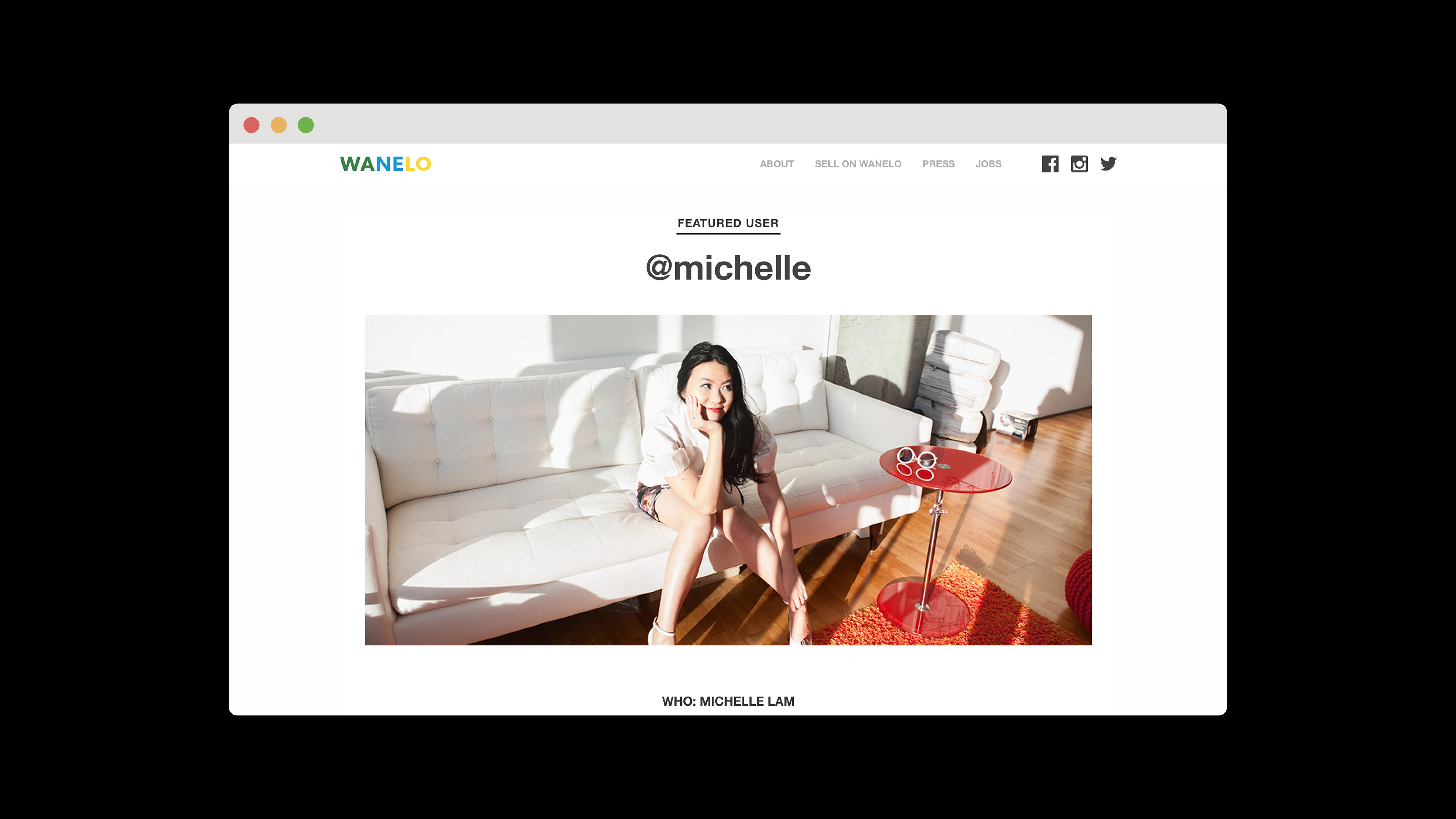 Wanelo Featured Users