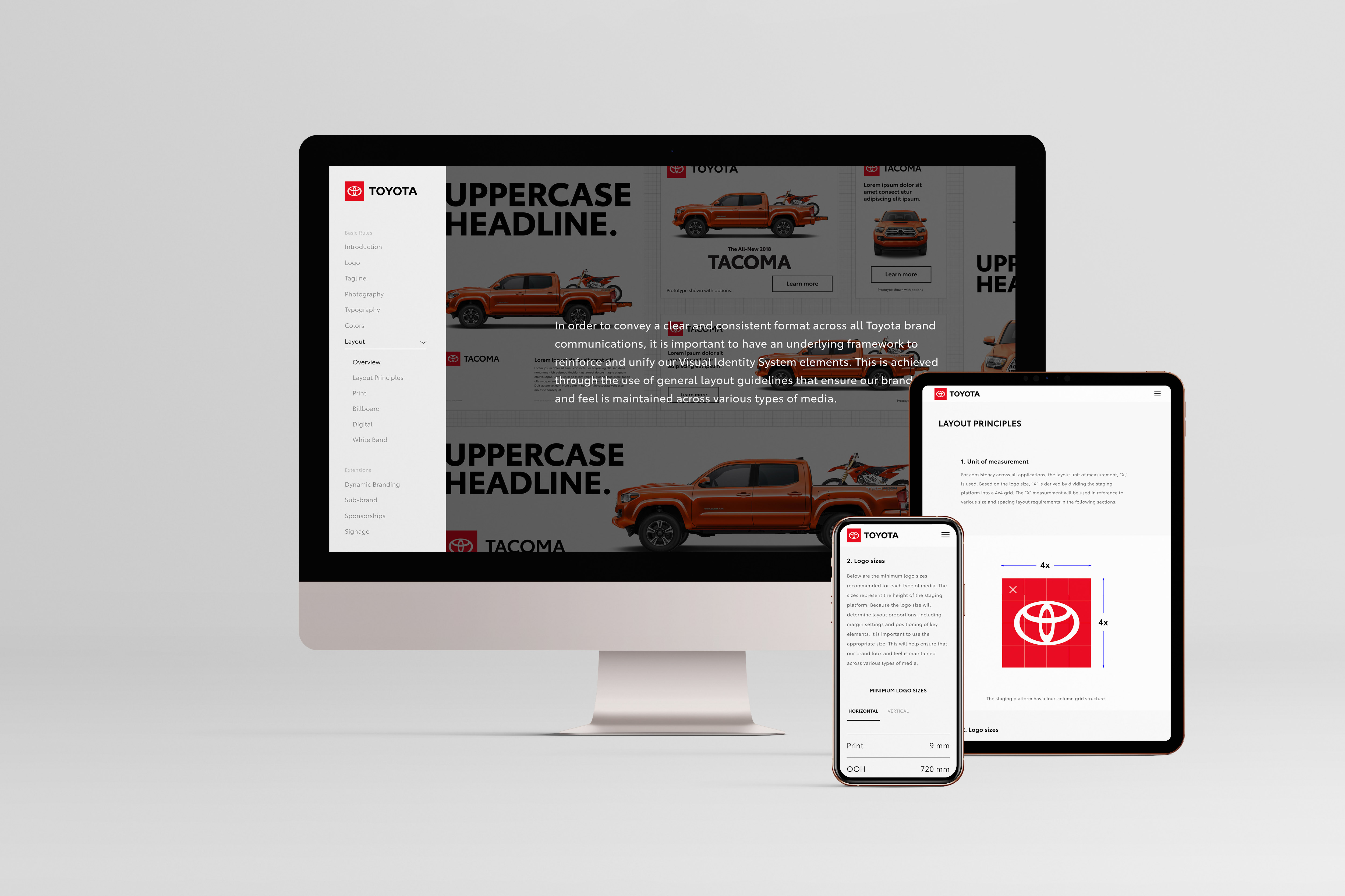 Toyota Visual Identity System
