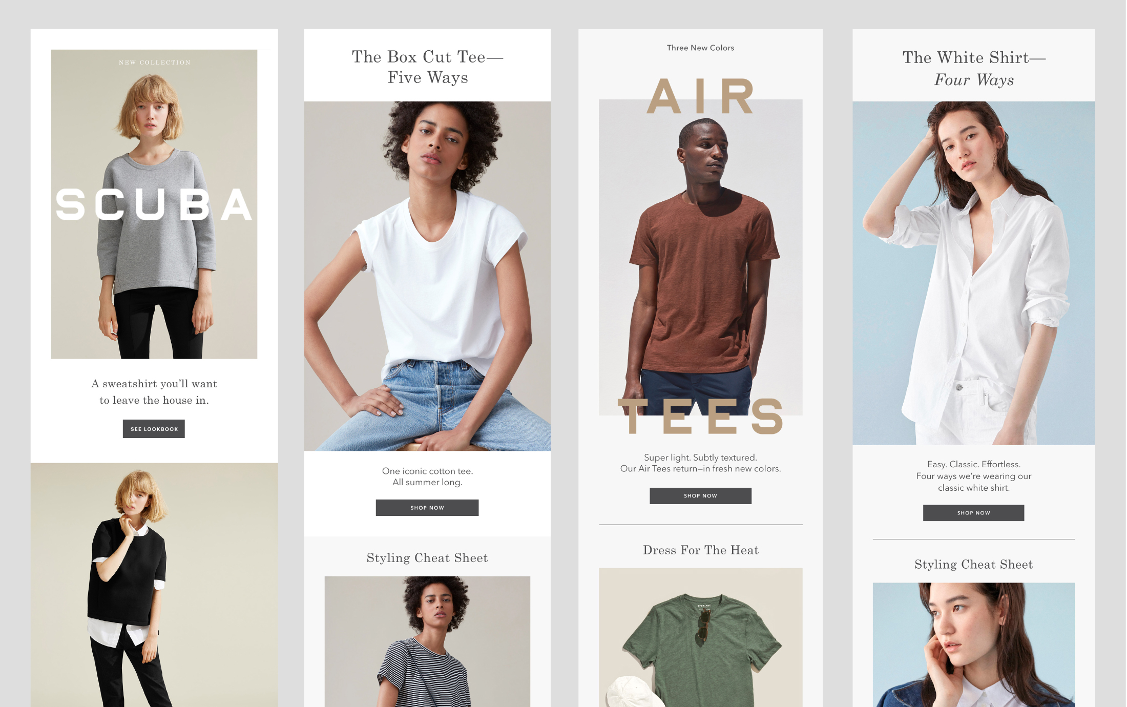 Select Product Emails for Everlane