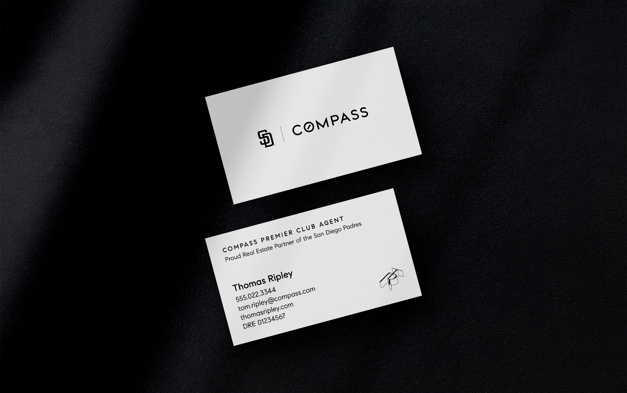Compass Premier Club Business Cards