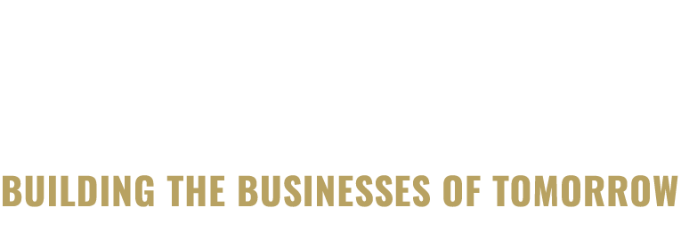 Innoleaps logo, with gold pay off text