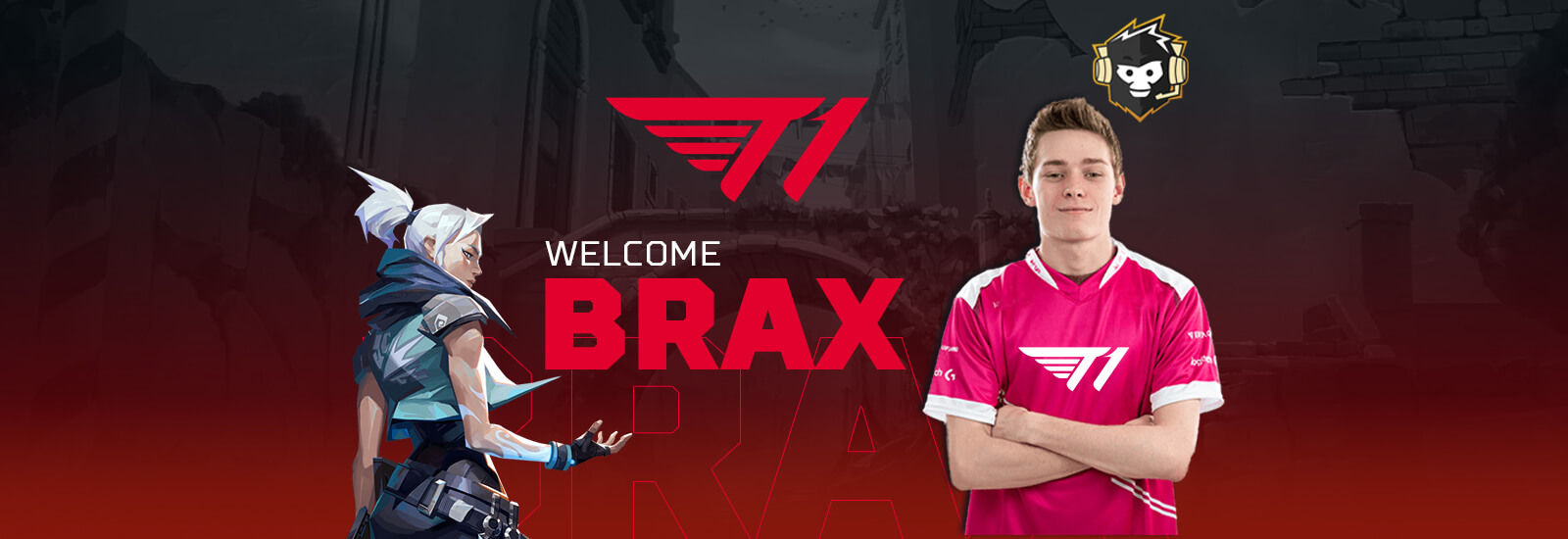 Swag Joins T1 as a Creator and Professional VALORANT Player | AFK ...