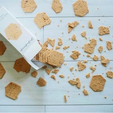 Crackers on Floor