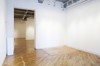 A view of the Gallery 44 gallery spaces.