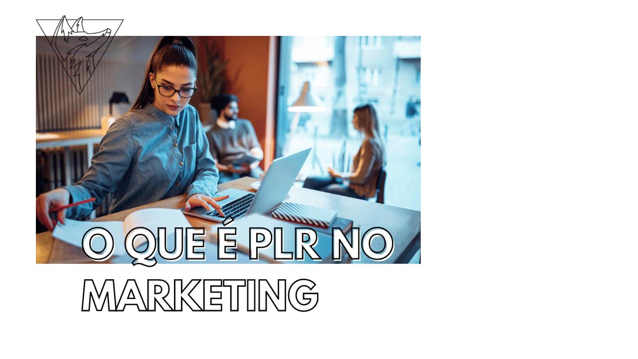 O que é PLR no marketing