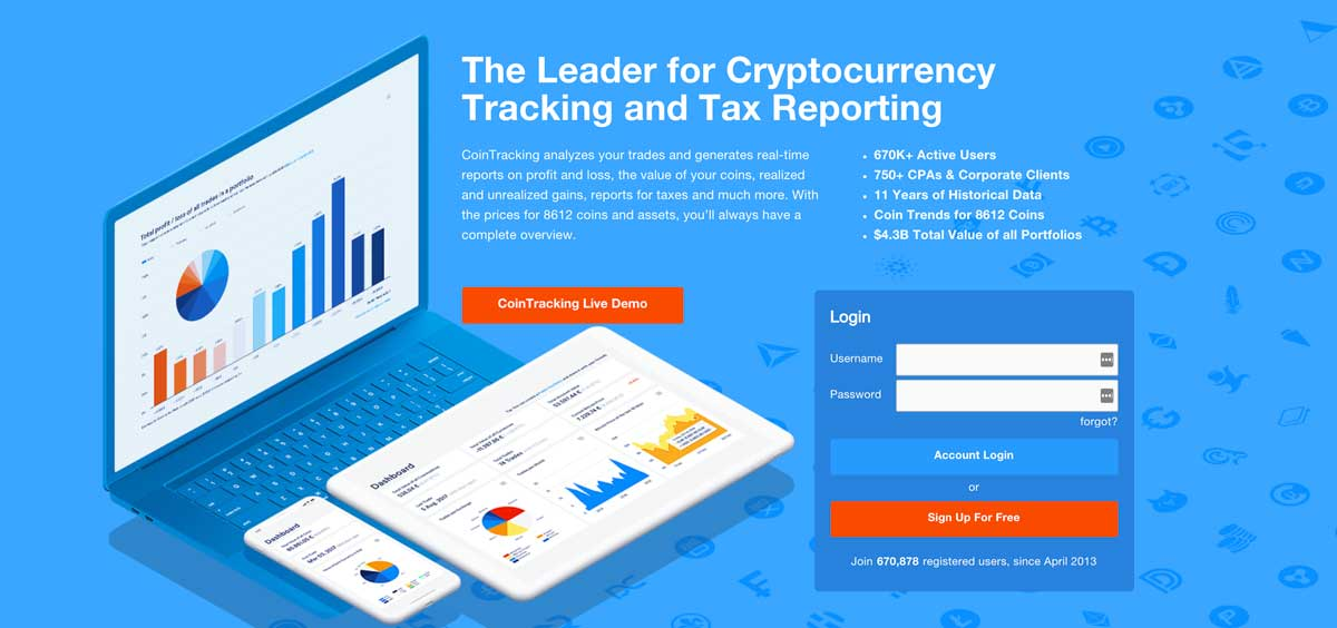 cryptocurrency tracking and tax reporting