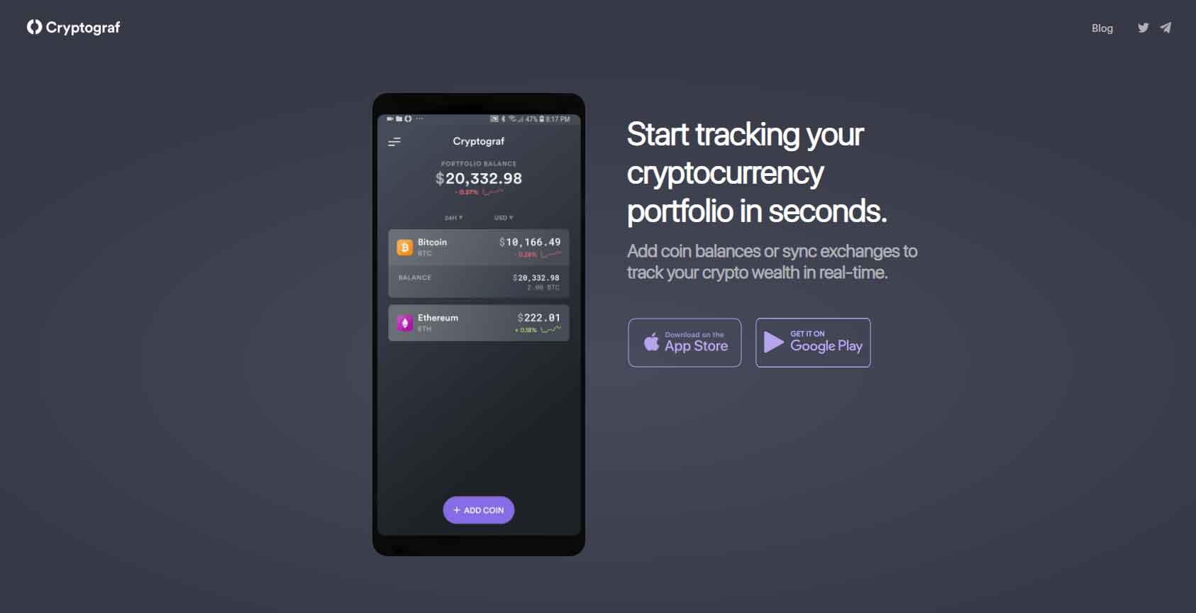 crypto tracking