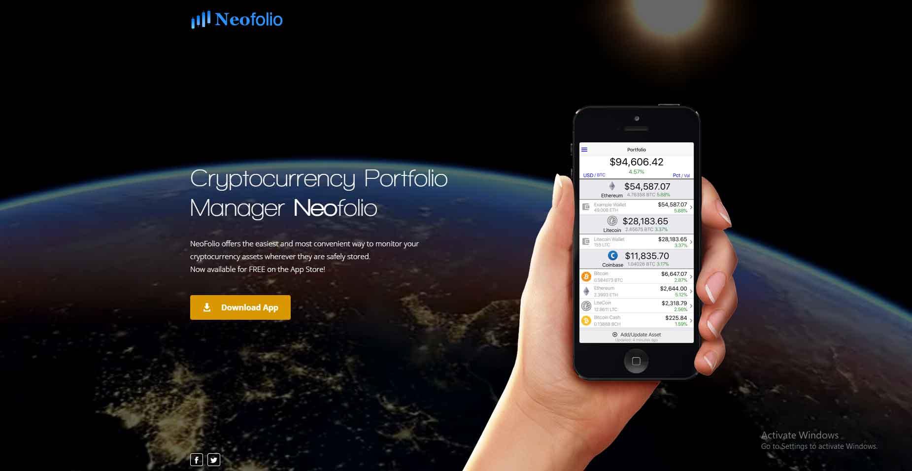 mobile crypto portfolio tracker