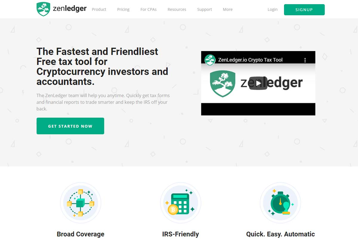 ZenLedger Free CryptocurrencyTax Tool