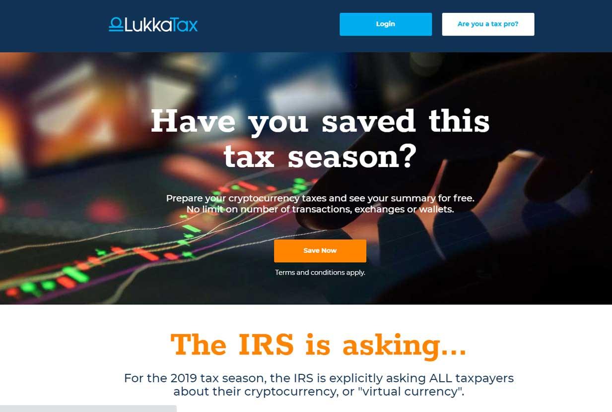 LukkaTax crypto tax
