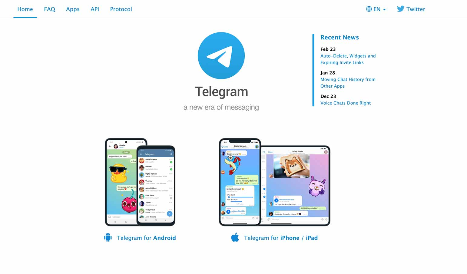 best crypto app for communication