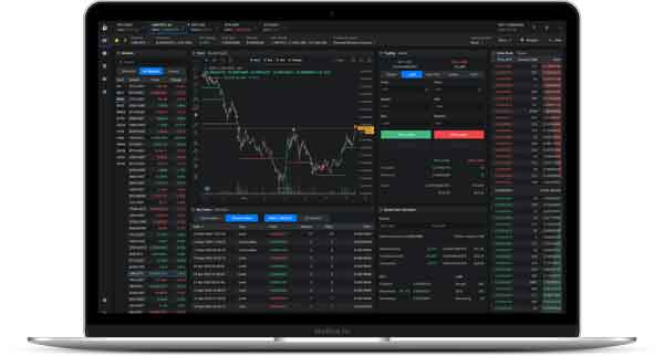 Cryptocurrency Trading Charts