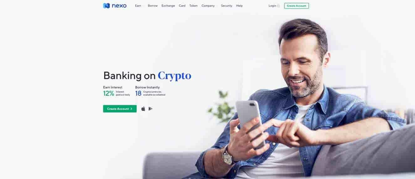 Next crypto savings account