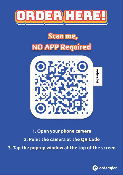 Orderspot Digital QR Menu